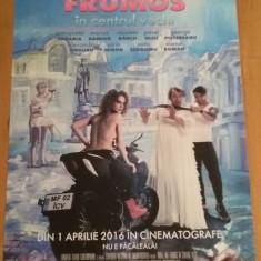 Afis / poster cinema Minte-ma frumos in centrul vechi original / by WADDER