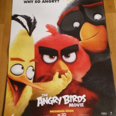 Afis / poster cinema The Angry birds movie original folosit / by WADDER