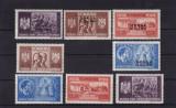 ROMANIA 1941  LP 146 I  LP 146 III  FRATIA  DE  ARME  SERII SARNIERA, Nestampilat