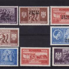 ROMANIA 1941, LP 146 I, LP 146 III, FRATIA DE ARME MNH - Timbre Romania, Nestampilat