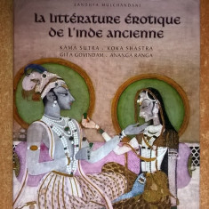 Sandhya Mulchandani - La Litterature erotique de L'Inde Ancienne - Carte Literatura Franceza