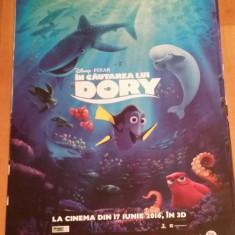 Afis / poster cinema In cautarea lui Dory Disney original folosit / by WADDER