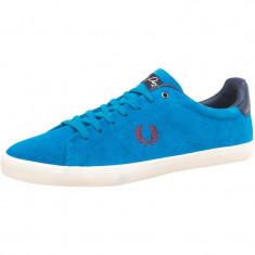Adidasi Pantofi casual FRED PERRY ORIGINALI masura 36 din piele - Adidasi dama Fred Perry, Culoare: Albastru, Piele intoarsa