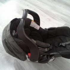 Scoica graco cu cadru de prindere pe caruciorul graco - Scaun auto copii Graco, 0+ (0-13 kg)