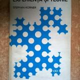 Stephan Korner - Experienta si teorie