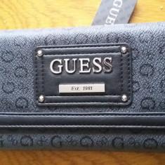 Postofel Guess - Portofel Dama Guess, Culoare: Negru