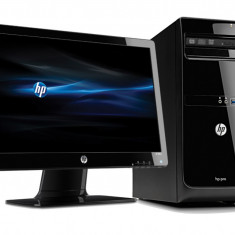 Kit hp PC PRO 3400 MT/i5=3, 3GHz/Windows 7 original + monitor 20 inch/sigilate - Sisteme desktop cu monitor
