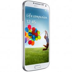 Smartphone Samsung i9505 Galaxy S4 16GB LTE White Frost + Husa S-View - Telefon mobil Samsung Galaxy S4, Alb, Neblocat, Single SIM
