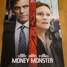 Afis / poster cinema Money monster original folosit / by WADDER