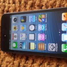 iPhone 5S Apple 16GB negru jailbreak navigon europa full instalat, Gri, Neblocat