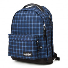 EASTPAK CHIZZO Charged Checked Blue | Rucsac laptop albastru 13