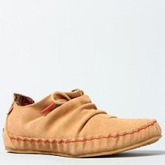 Pantofi dama KEDS, mas. 39 - Pantof dama Keds, Culoare: Bej, Piele naturala