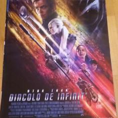 Afis / poster cinema Star trek Dincolo de infinit original folosit / by WADDER