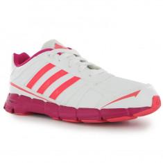 Adidasi tenisi tenesi pt alergat pt sala ADIDAS Adifast Syn ORIGINALI 38 2/3 - Adidasi dama, Culoare: Alb, Piele sintetica