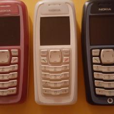 Telefon mobil Nokia 3100 Original - Telefon Nokia, Roz, Neblocat, Fara suport card, CSTN, 128x128 pixeli