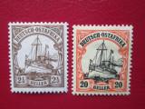 TIMBRE GERMANIA  /COLONII OSTAFRIKA, Nestampilat