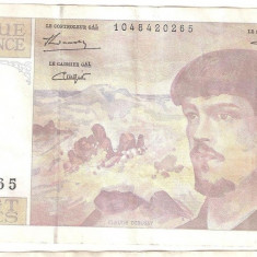 Bancnota 20 francs 1993 - Franta