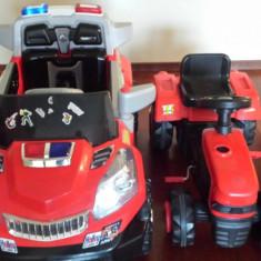 Masinuta electrica+tractoras cu pedale - Masinuta electrica copii Altele