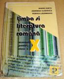 Limba si Literatura Romana - manual clasa a X a - Iancu / Vladescu/ Lazarescu