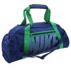 Geanta Nike Gym Club - Originala - Anglia - Dimensiuni W56 x D23 x H30 cm - Geanta Dama Nike, Culoare: Din imagine, Marime: Masura unica, Geanta sport, Albastru