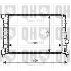 Radiator, racire motor ALFA ROMEO 147 1.9 JTD - QUINTON HAZELL QER2113