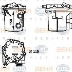 Radiator ulei, ulei motor MERCEDES-BENZ C-CLASS limuzina C 230 Kompressor - BEHR HELLA SERVICE 8MO 376 725-721 - Radiator auto ulei
