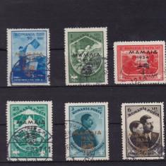 ROMANIA 1934, LP 107, JAMBOREEA NATIONALA MAMAIA SERIE STAMP. - Timbre Romania, Stampilat