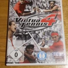 Wii Virtua Tennis 4 - joc original PAL by WADDER - Jocuri WII Sega, Sporturi, Toate varstele, Multiplayer