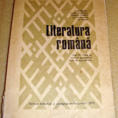 Literatura Romana manual anul III de liceu1972 - Boldan / Ciopraga / Dogaru - Manual scolar Altele, Clasa 6