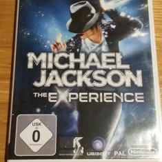 Wii Michael Jackson The experince - joc original PAL by WADDER - Jocuri WII Ubisoft, Actiune, 12+, Multiplayer