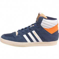 Adidasi ADIDAS Originals Post Player ORIGINALI piele masura 42 - Ghete barbati Adidas, Culoare: Albastru, Piele naturala