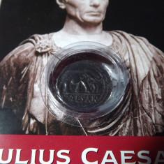 Denar, Caesar, replica - Moneda Antica