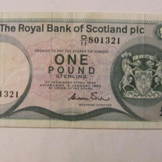 CY - Pound lira sterlina 1985 The Royal Bank of Scotland Scotia
