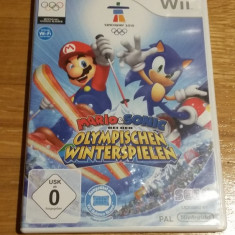 Wii Mario & Sonic at the Olympic winter games - joc original PAL by WADDER - Jocuri WII Sega, Sporturi, Toate varstele, Multiplayer