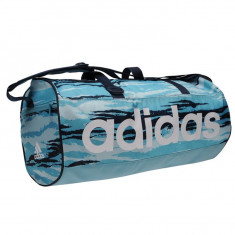 Geanta Adidas Team Small - Originala - Anglia - Dimensiuni W48 x H28 x D25 cm - Geanta Dama Adidas, Culoare: Din imagine, Marime: Masura unica, Geanta sport, Bleu
