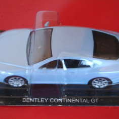 Macheta Bentley Continental GT - Masini de legenda Rusia scara 1:43 - Macheta auto