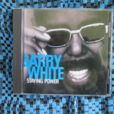 BARRY WHITE - STAYING POWER (1 CD ORIGINAL DIN GERMANIA - CA NOU!!!)