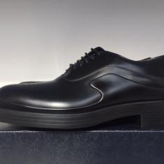 Pantofi PRADA, barbatesti, Made in Italy, negri - Pantof barbat Prada, Marime: 44, Culoare: Negru