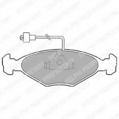 Placute frana TALBOT 1307-1510 Simca 1307 1.3 - DELPHI LP212
