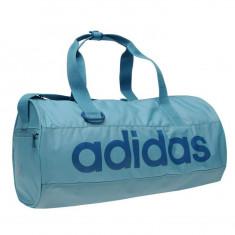Geanta Adidas Linear XS - Originala - Anglia - Dimensiuni W38 x D20 x H20 cm - Geanta Dama Adidas, Culoare: Din imagine, Marime: Masura unica, Geanta sport, Bleu