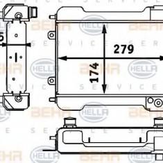 Radiator ulei, ulei motor MERCEDES-BENZ G-CLASS 350 Turbo GD - BEHR HELLA SERVICE 8MO 376 725-731 - Radiator auto ulei