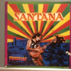 SANTANA - FREEDOM (1987/CBS REC /Hollland) - Vinil/Rock/Impecabil/Rar (disc NM) - Muzica Rock Columbia