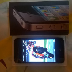 iPhone 4 Apple 16 GB Neverlocked, Negru, Neblocat