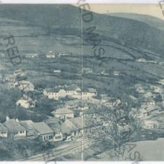 3469 - Caras-Severin, ORAVITA - Double old postcard - used - 1914 - Carte Postala Banat 1904-1918, Circulata, Printata