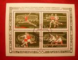 RUSIA 1974 – SPORTURI OLIMPICE, colita stampilata N64, Stampilat