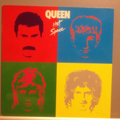 QUEEN - HOT SPACE (1981 /EMI REC/HOLLAND) - Vinil/Rock/Impecabil (NM-) - Muzica Rock emi records