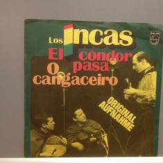 LOS INCAS - EL CONDOR PASA....(1976/PHILIPS/GERMANY) - VINIL/