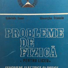 PROBLEME DE  FIZICA PENTRU LICEU - Gabriela Cone, Gheorghe Stanciu