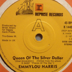 """EMMYLOU HARRIS - IF I COULD ONLY...(1975/Reprise/UK) - VINIL/""""7 Single/Impecabil - Muzica Country warner"""
