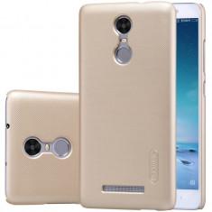 Husa Capac Nillkin pentru Xiaomi Redmi Note 3, auriu - Husa Telefon